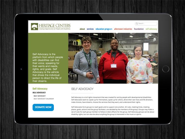 Heritage Centers Website