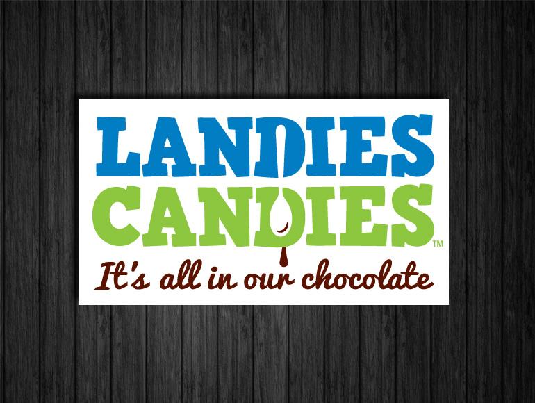 Landies Candies Rebranding